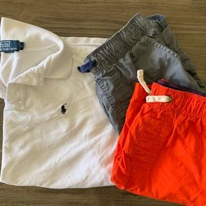 Back-To-School Pack: 1 Polo & 2 Cargo Shorts sz L